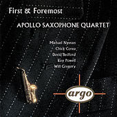 Thumbnail for the Apollo Saxophone Quartet - First & Foremost link, provided by host site