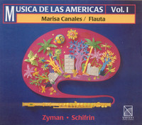 Thumbnail for the Samuel Zyman - Flute Sonata: III. Allegro molto link, provided by host site