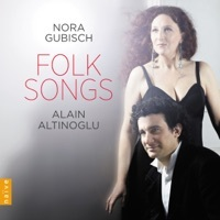 Thumbnail for the Nora Gubisch - Folk Songs link, provided by host site