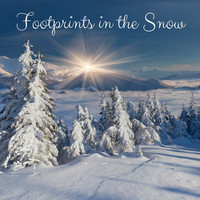 Thumbnail for the Rain Sounds - Footprints in the Snow link, provided by host site