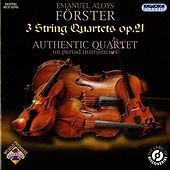 Thumbnail for the Authentic Quartet - Förster: 3 String Quartets, Op. 21 link, provided by host site