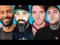 Thumbnail for the Shane Dawson - Fousey and Keemstar INSANE live interview!!! link, provided by host site