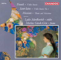 Thumbnail for the Lydia Mordkovitch - Franck: Violin Sonata in A major - Saint-Saëns: Violin Sonata No. 1 - Messiaen: Theme and Variations link, provided by host site