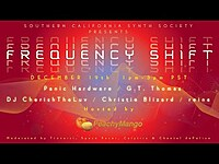 Thumbnail for the Franck Martin - Frequency Shift Takeover by the Southern California Synth Society (Part 1) link, provided by host site