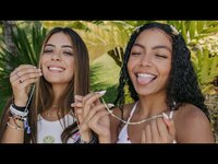 Thumbnail for the Now United - Friendship Bracelet Making With Any & Sabina! link, provided by host site