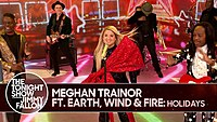 """Thumbnail for the Meghan Trainor - """"Holidays"""" link, provided by host site"""