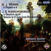 Thumbnail for the Authentic Quartet - Fugues for String Quartet link, provided by host site