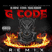 Thumbnail for the Lil Wayne - G-Code (Remix) link, provided by host site