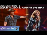 Thumbnail for the Jason Aldean - Gets Country With Hannah Everhart + A Chris Stapleton Cover - American Idol 2021 link, provided by host site