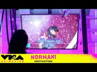 """Thumbnail for the Normani - Gets """"Motivated"""" in This Animated Interpretation of Her 2019 VMA Performance   VMAnimation link, provided by host site"""