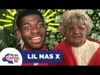 """Thumbnail for the Lil Nas X - Gets Pranked By His """"Oldest Fan"""" 👵🏻 