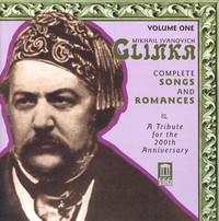 Thumbnail for the Mikhail Glinka - Glinka, M.I.: Songs and Romances (Complete), Vol. 1 (A Tribute for the 200Th Anniversary, 1840-1856) link, provided by host site