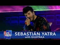 """Thumbnail for the Sebastian Yatra - & Guaynaa """"Chica Ideal"""" link, provided by host site"""