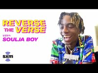 Thumbnail for the Soulja Boy - Guesses His Songs Backwards | Reverse The Verse link, provided by host site