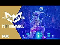 """Thumbnail for the The Masked Singer - Hammerhead Performs To """"Blinding Lights"""" By The Weeknd 