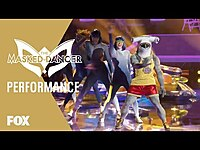 """Thumbnail for the The Masked Singer - Hammerhead Performs To """"Everybody (Backstreet's Back)"""" 