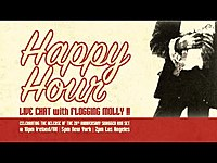 Thumbnail for the Flogging Molly - Happy Hour Live with link, provided by host site