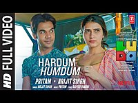 Thumbnail for the Ludo - Hardum Humdum FULL VIDEO | Abhishek B, Aditya K, Rajkummar R, Sanya M, Fatima | Arijit, Pritam link, provided by host site