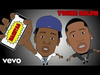 Thumbnail for the Young Dolph - Hashtag (Visualizer) link, provided by host site