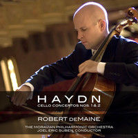 Thumbnail for the Franz Joseph Haydn - Haydn: Cello Concerto Nos. 1 & 2 link, provided by host site