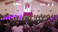 Thumbnail for the Ricky Dillard - He's My Roof Top [Live At Haven Of Rest Missionary Baptist Church, Chicago, IL/2020] link, provided by host site