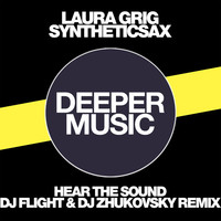 Thumbnail for the Laura Grig - Hear the Sound (DJ Flight & DJ Zhukovsky Remix) link, provided by host site