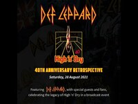 Thumbnail for the Def Leppard - HIGH 'N' DRY 40TH ANNIVERSARY RETROSPECTIVE EVENT - 28 AUGUST (TICKETS ON SALE NOW) 🤘 link, provided by host site