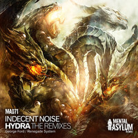 Thumbnail for the Indecent Noise - Hydra (The Remixes) link, provided by host site
