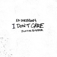 Thumbnail for the Ed Sheeran - I Don't Care (with Justin Bieber) link, provided by host site
