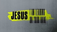 Thumbnail for the Crowder - I'm Leaning On You [Lyric Video] link, provided by host site