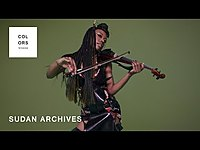 Thumbnail for the Sudan Archives - Iceland Moss | A COLORS SHOW link, provided by host site