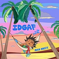 Thumbnail for the Rico Nasty - IDGAF link, provided by host site