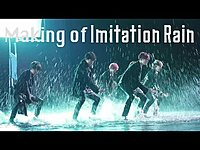 Thumbnail for the SixTONES - Imitation Rain (MVメイキング) [YouTube Ver.] link, provided by host site