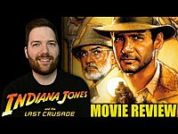 Thumbnail for the Chris Stuckmann - Indiana Jones and the Last Crusade - Movie Review link, provided by host site