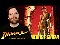 Thumbnail for the Chris Stuckmann - Indiana Jones and the Temple of Doom - Movie Review link, provided by host site