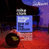 Thumbnail for the Mike Clark - Indigo Blue (Live At the Iridium) link, provided by host site