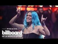 Thumbnail for the Karol G - Interpretó sus grandes éxitos en los Premios Billboard 2021 | Telemundo Entretenimiento link, provided by host site
