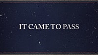 Thumbnail for the Andrew Peterson - It Came To Pass [Lyric Video] link, provided by host site