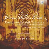 Thumbnail for the Johann Sebastian Bach - J.S. Bach: Complete Sacred Cantatas Vol. 05, BWV 81-100 link, provided by host site