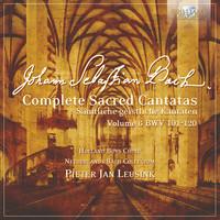 Thumbnail for the Johann Sebastian Bach - J.S. Bach: Complete Sacred Cantatas Vol. 06, BWV 101-120 link, provided by host site
