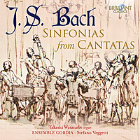 Thumbnail for the Johann Sebastian Bach - J.S. Bach: Sinfonias from Cantatas link, provided by host site