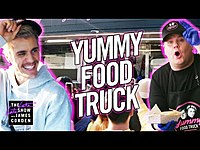 "Thumbnail for the Justin Bieber - & James Corden's ""Yummy"" Food Truck link, provided by host site"