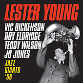 Thumbnail for the Lester Young - Jazz Giants '56 [Bonus Track Version] link, provided by host site