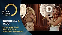 Thumbnail for the Tori Kelly - '(You Make Me Feel Like) A Natural Woman' | Global Citizen Prize 2020 link, provided by host site