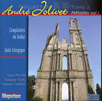 Thumbnail for the André Jolivet - Jolivet: Melodies, Vol. 1 link, provided by host site