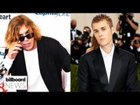 Thumbnail for the The Kid LAROI - & Justin Bieber Return to The No.1 Spot On The Hot 100 With 'Stay'   Billboard News link, provided by host site