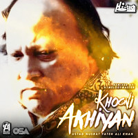Thumbnail for the Nusrat Fateh Ali Khan - Khooni Akhiyan link, provided by host site