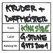 Thumbnail for the Kruder & Dorfmeister - King Size link, provided by host site