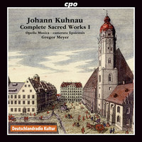Thumbnail for the Johann Kuhnau - Kuhnau: Complete Sacred Works, Vol. 1 link, provided by host site