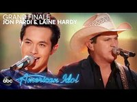 """Thumbnail for the Jon Pardi - & Laine Hardy Sing """"Dirt On My Boots"""" & """"Night Shift"""" - American Idol 2019 Finale link, provided by host site"""